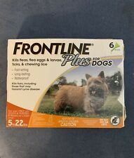 New listing Frontline Plus Dog Flea and Tick Treatment-Small Dogs 5-22 lbs, 6 Doses