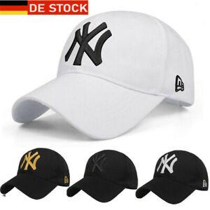 Basecap Adjustable Mütze Baseball Cap NY Hut Kappe Sport Golf Hat Herren Damen