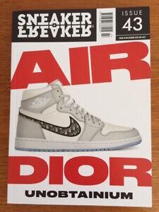 Sneaker Freaker magazine issue 43  Nike air Jordan Dior AIR DIOR