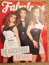 *** NEW UK !! KARDASHIAN SISTERS KIM KHLOE KOURTNEY gatsby FABULOUS may2013 ***