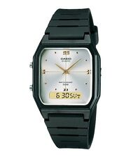 Casio AW48HE-7A Men's Resin Strap Silver Dial Analog Digital Dual Time Watch