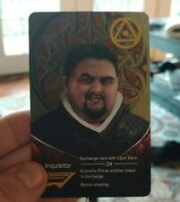 BRAND NEW International Tabletop Day Coup Promotional Inquisitor Card