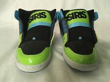 Green and Blue Osiris NYC 83 Mid Sz. 9.5
