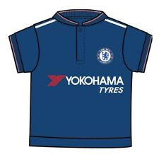 Chelsea Fc Baby Football Kit Shirt Strip (9/12 Months) - Babies Short Sleeved