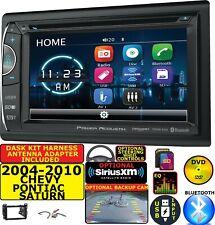 04-10 CHEVY PONTIAC SATURN CD/DVD BLUETOOTH USB OPT. SIRIUSXM CAR RADIO STEREO