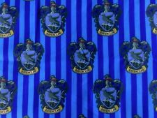 FQ HARRY POTTER HOGWARTS HOUSE RAVENCLAW  POLYCOTTON FABRIC CHARACTER WIZARD