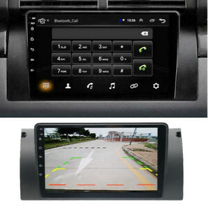 Fit For BMW E39 E53 X5 9'' Android 9.1 1GB + 16GB Car Stereo Radio GPS WIFI~
