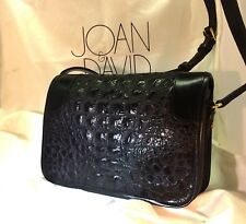 JOAN & DAVID LUXURY DESIGNER HANDBAG-TINGA COLLECTION-BLACK LETTER BAG