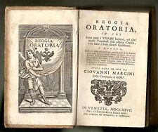 1747 (Venezia-Baglioni) Reggia Oratoria - Margini