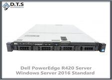 Dell PowerEdge R420 Server 2X 1.9GHz E5-2420 HEX Windows Server 2016 Standard