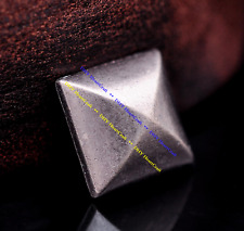 30 Pack 12mm Metal Pyramid Studs Rivet Punk Gothic DIY Leathercraft Spike Concho