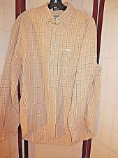 MENS FACONNABLE LINEN CASUAL DRESS SHIRT SIZE M *GREAT*