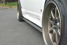 R33 GTS-T SKYLINE SIDE SKIRT EXTENSIONS JSAI AERO