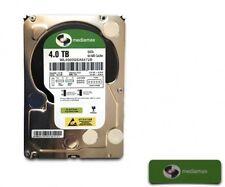 """Mediamax 4000GB WL4000GSA6472B 3,5"""" 9,98cm 64MB S-ATA 3 HDD 7200 rpm 4TB, inter"""