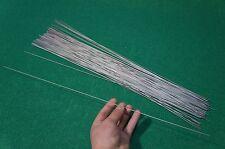"1.2mm Dia Titanium 6al-4v round bar .047"" x 20"" Ti Welding grade 5 rod 100pcs"