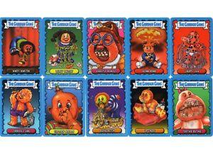 TOPPS GARBAGE GANG FULL SET OF 10 LENTICULAR CARDS