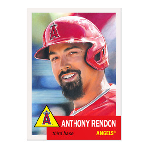 Topps MLB® Living Set® Card #397 - Anthony Rendon Los Angeles Angels PRE ORDER