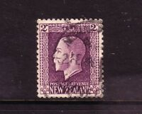 NEW ZEALAND....  1915 KGV recess print   2d violet used