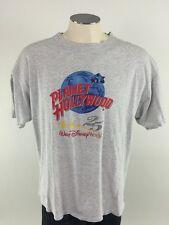 Planet Hollywood Walt Disney World 25 Years T Shirt XL Gray VTG USA 25th Mens
