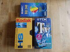 VHS - 5 x Leerkassette / NEU / OVP / Eingeschweißt