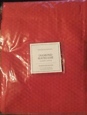 Restoration Hardware Diamond Matelasse Shower Curtain NWT