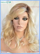 """""""Orchid"""" Lace Front W Lace Part Wig LIGHT BLOND ROOTED RH26.613RT8 *NIB MUST SEE"""