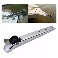 "Stainless Steel Boat Anchor Bow Roller 15"" Marine Self Launching Anchor Roller"