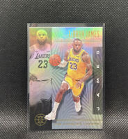 Lebron James Base Los Angeles Lakers SSP 2019-20 Panini Illusions #20