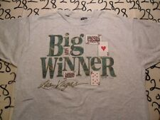 XL- Las Vegas Big Winner Vintage Fruit Of The Loom T- Shirt