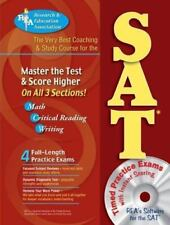 SAT w/ CD-ROM (REA) - The Very Best Coaching & Study Course (SAT PSAT ACT