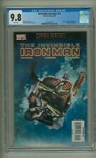 Invincible Iron Man 12 (CGC 9.8) White pages; Pepper Potts Rescue 2009 (c# 24064