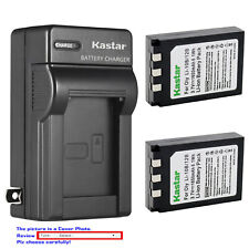 Kastar Battery Travel Charger for Olympus Li-10B Li12B Camedia C-5000 Sport Zoom