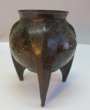 """Fine & Unique 7.5"""" WMF IKORA German Art Nouveau Bronzed Bowl  c. 1910   antique"""