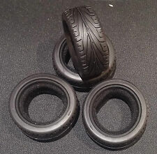 1/10th Touring car tyres and foams tires Tamiya Kyosho HPI NEW UK Stock Treaded