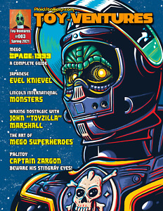 PlaidStallions Toy-Ventures Magazine Issue 3 : Mego Space:1999, Lincoln Monsters