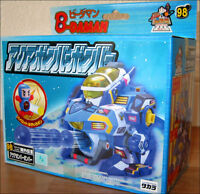 B-Daman Bomberman Bakugaiden EZ Model Kit Aqua Bomber 98 Toy Figure TAKARA RARE!