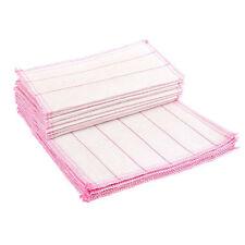 NEU Küche Waschtücher Geschirrtücher Rags Handtuch Bambus Faser Anti Fettig X