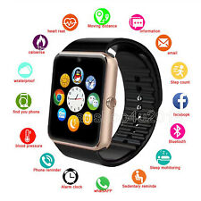 Bluetooth Smart Watch Wrist Phone Call Camera Touch Screen For Android IOS Kids
