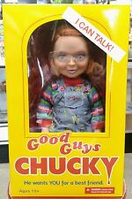 "TALKING Good Guys CHUCKY ! Made by Mezco.  15"" Figure"