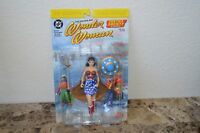 DC Direct Justice Society of America Golden Age WONDER WOMAN - New on Card