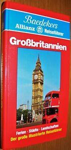 Buch Baedekers Allianz Reiseführer Großbritanien mit extra Autokarte