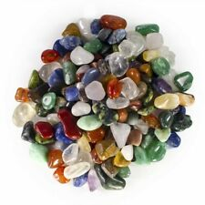 """3 lbs Assorted Brazilian Tumbled Stone Mix - Extra Small Size - 0.50"""" to 1""""Avg."""