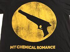Rare!!! My Chemical Romance Gun Black Parade Take it Like a Man T-Shirt Medium
