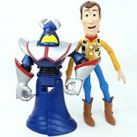 Toy Story Woody Evil Emperor Zurg figure doll figurine