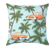 SET of 2 Ikea SOMMAR 2020 Tropical Pillow Cushion Cover Blue 50 x 50cm NEW