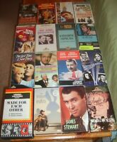 Vintage lot 16 videos vhs classics drama mystery hollywood romance comedy