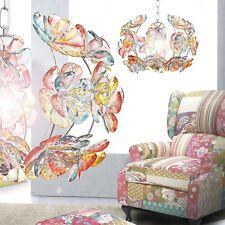 Hanging Lamp Flowers Chandelier Lighting Multicolour Pendulum Light