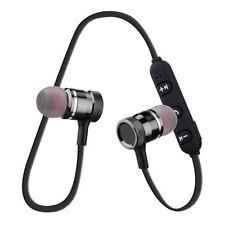 4.1 Sweatproof Bluetooth Wireless Earphones Headphones With Mic Sport Gym