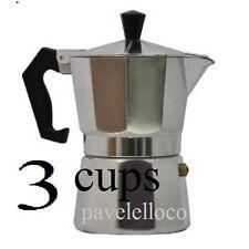 Stove Top Coffee Maker Espresso Cuban pot Cappuccino Latte 3 Cup Cafetera Cubana