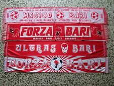 lotto 4 sciarpe BARI FC club football calcio scarf bufanda echarpe schal lot a